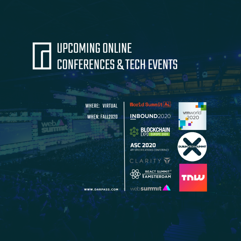 Online Tech events and conferences